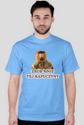 KAPUCZYNA - KOSZULKA MĘSKA KOLOR