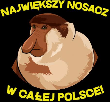 Największy Nosacz w całej Polsce - koszulka damska