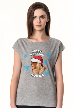 Mery Krismas, Kurła - koszulka damska