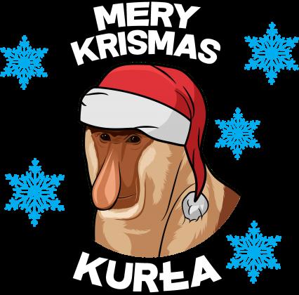 Mery Krismas, Kurła - bluza damska