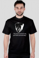 Szczupak - koszulka męska czarna