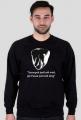Szczupak - bluza męska czarna
