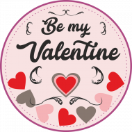 Poduszka Be My Valentine