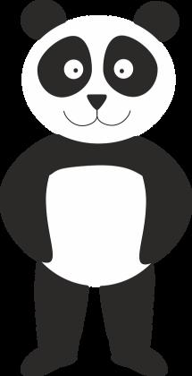 Koszulka Panda