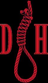 Dom Horroru Krawat Czerwony
