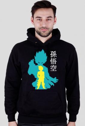 Dragon Ball Hoodie SonGoku Blue 2017!