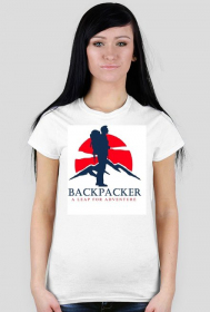 Backpacker Tshirt for her 2