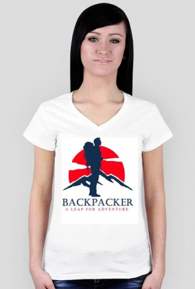 Backpacker - Tshirt for her