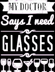 My doctor says I need glasses - męska
