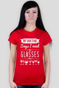 My doctor says I need glasses - damska