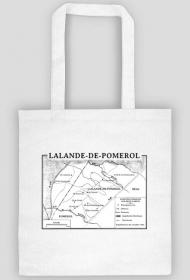 Mapa Lalande-de-Pomerol Bordeaux
