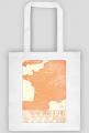 Mapa Wina - Francja - torba retro