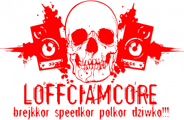 Loffciamcore Black'N'Red Girl