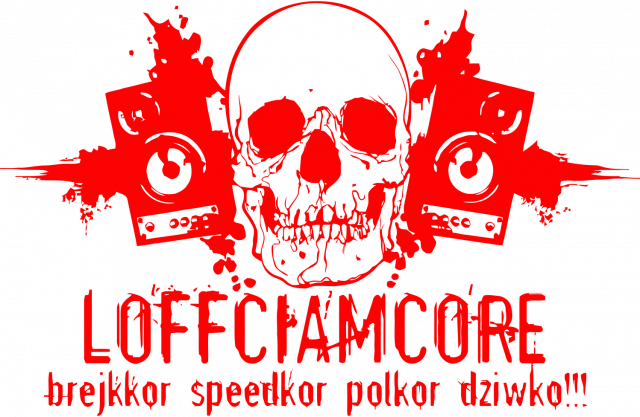 Loffciamcore Black'N'Red