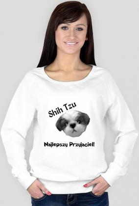 Shih Tzu Przyjaciel Bluza White
