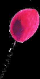 """Koszulka damska """"różowy balon"""""""