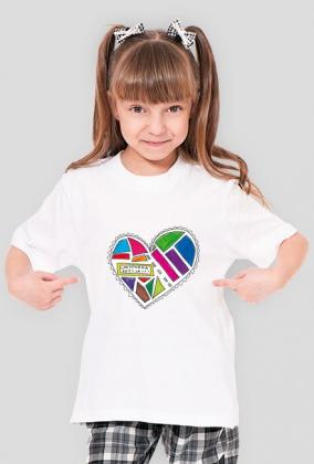 """Koszulka dziewczęca """"limitowana edycja"""""""
