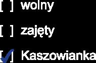 Kaszowianka wolny/zajęty/Kaszowianka
