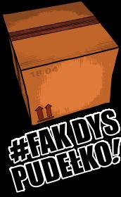 Koszulka 'Fak Dys Pudełko'