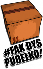 Podkładka 'Fak Dys Pudełko'