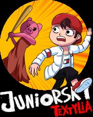 Koszulka Dziecięca - Piggy goni Juniorsky'iego