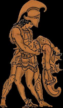 Achilles and Penthesilea