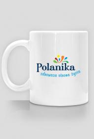 Kubek Polanika z logo