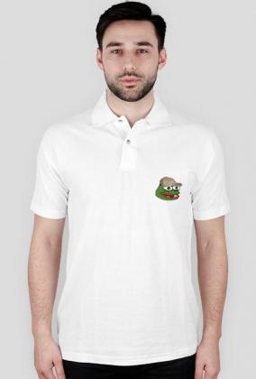 "Biała koszula ,,Gucci Frog"""