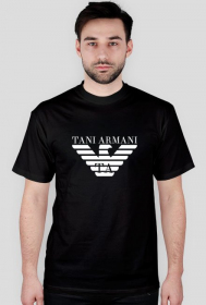 Koszulka Tani Armani Czarna
