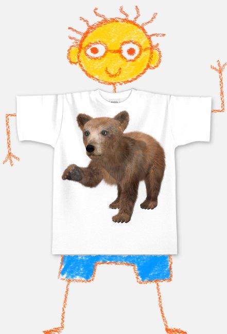 """Koszulka dziecięca """"Niedźwiadek"""""""