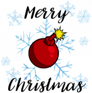 Kubek Merry Christmas Bombka