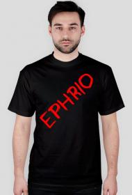 Męska koszulka z logo (czarna)
