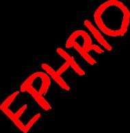 Męska koszulka z logo (niebieska)