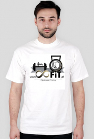 T-shirt z logiem 8FiT
