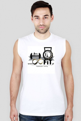 Tank top męski z logiem 8FiT