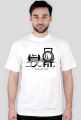 T-shirt z logiem 8FiT
