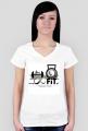 T-shirt damski z logiem 8FiT