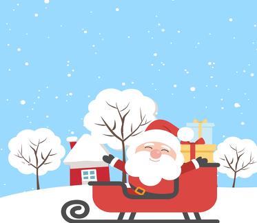 Podkładki pod kubki - Santa Claus