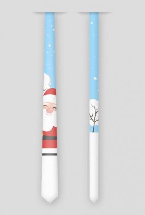 Krawat Santa Claus