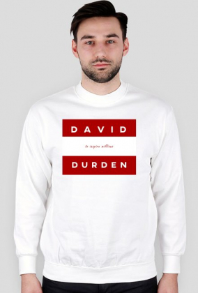 David Durden Red White Long