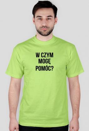 Koszulka W czym mogę pomóc