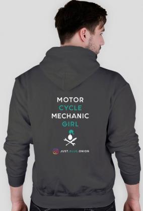 MOTORCYCLE MECHANIC GIRL #2