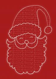 Santa, plakat