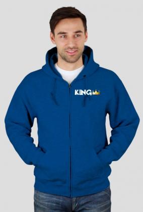 Bluza z napisem king
