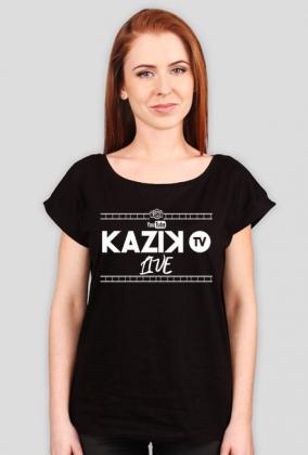 Koszulka damska LIVE Kazik.TV