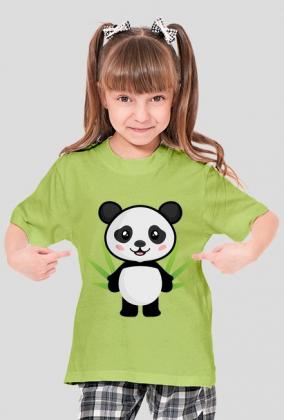 Koszulka dziecięca Full Print - Panda (Bambus)