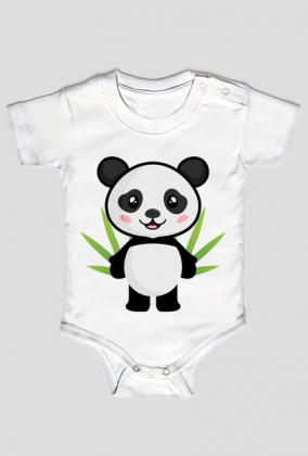 Body niemowlęce - Panda (Bambus)