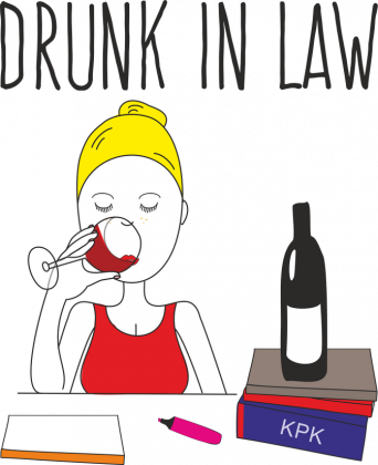 TORBA DRUNK IN LAW BLONDYNKA