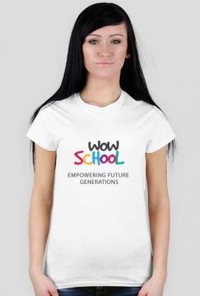 WOW koszulka logo