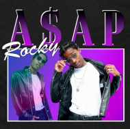 ASAP ROCKY Koszulka 90's style